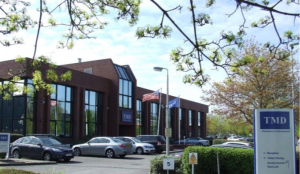 TMD's headquarters in West London. Last year, the company celebrated 20 successful years at the top of its profession as an independent design and manufacturing SME in the microwave and RF field.